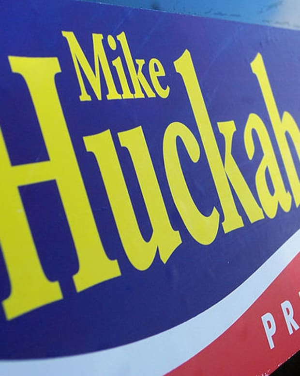 Mike Huckabee Campaign Poster.
