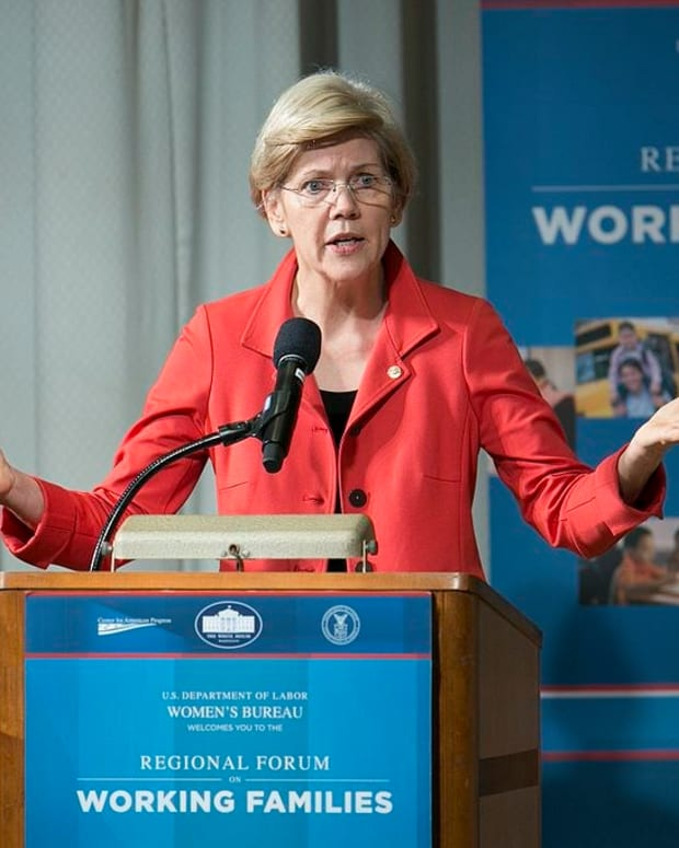 GOP Forms Anti-Warren Super PAC Promo Image