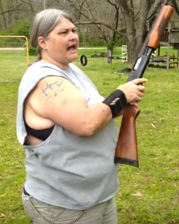 Mom Slams Social Media, Shoots Kids' iPhones (Video) Promo Image
