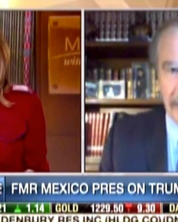 Ex-Mexican President Drops F-Bomb Again On Trump (Video) Promo Image