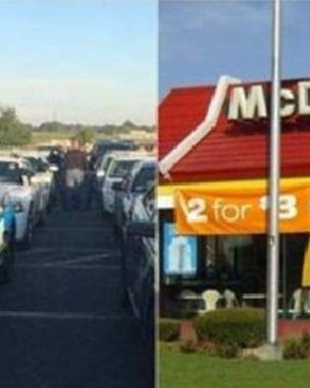 Cops Stop By McDonald's After Funeral, Get Interrupted By Unexpected Person (Photo) Promo Image