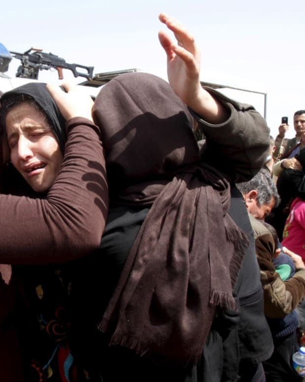 yazidi refugees speak out on atrocities committed by ISIS