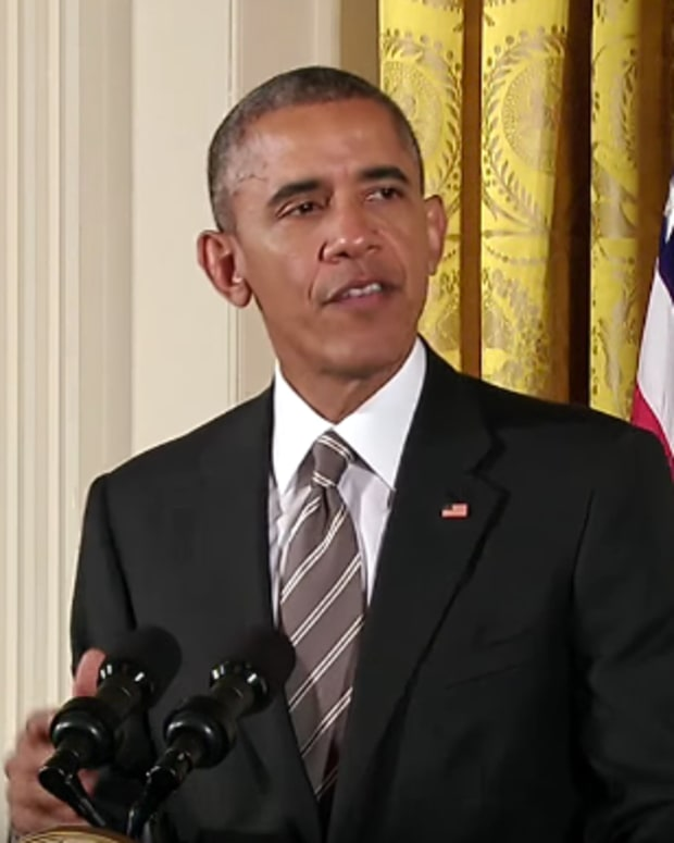 President Barack Obama at the White House Summit On Worker Voice