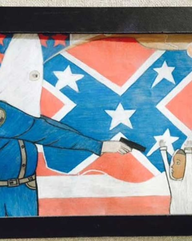 Artwork Depicting Cop As KKK Member Sparks Controversy Promo Image
