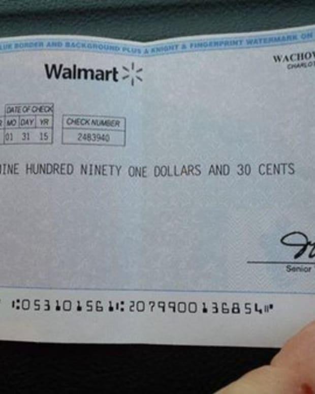 Walmart scam check