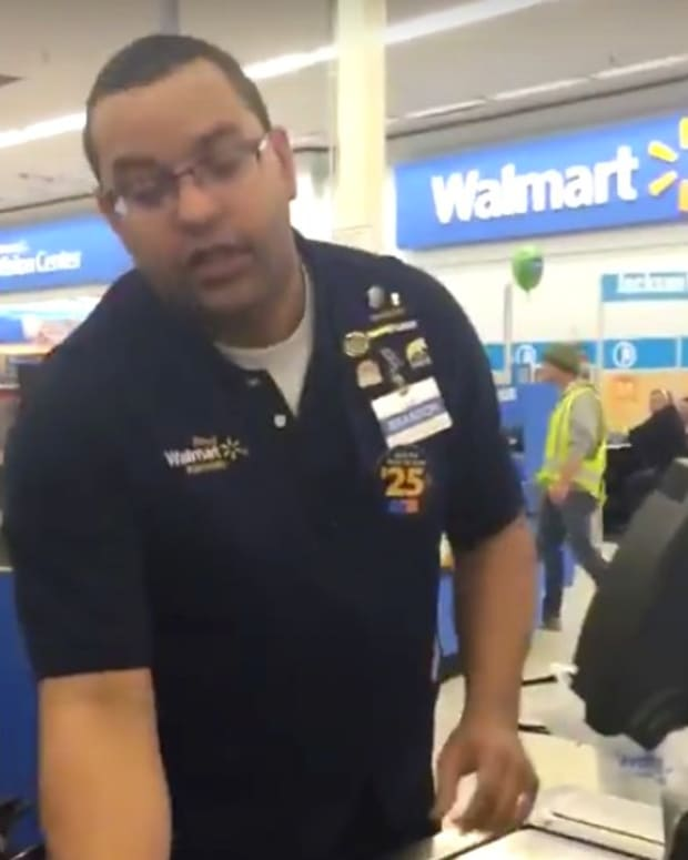 Walmart Cashier Impresses With Scooby Doo Voices (Video) Promo Image