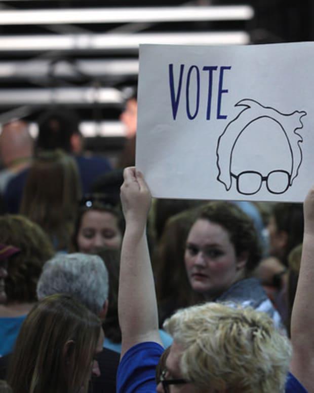 Half Of West Virginia's Sanders Fans Would Vote Trump Promo Image