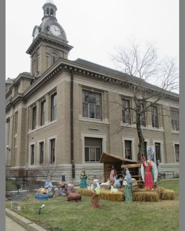 Franklin Nativity Scene.