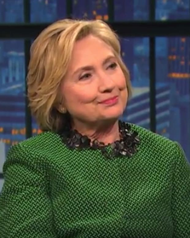 Hillary Clinton On Late Night With Seth Meyers