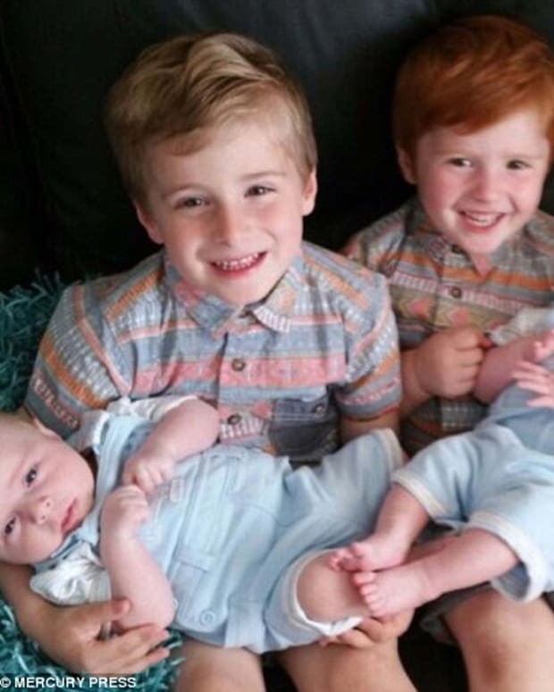 Noah Gilbert And His Siblings.