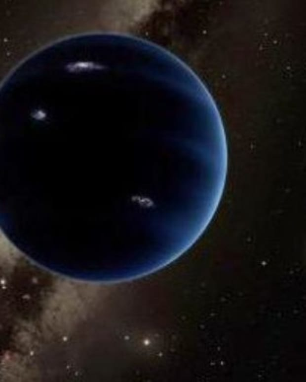 An Artist's Rendering Of Planet Nine
