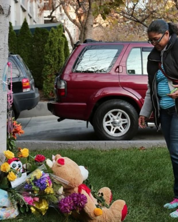 Memorial To Baby Jane Uddin.