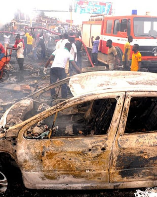 Boko Haram Bombing In Jos, Nigeria