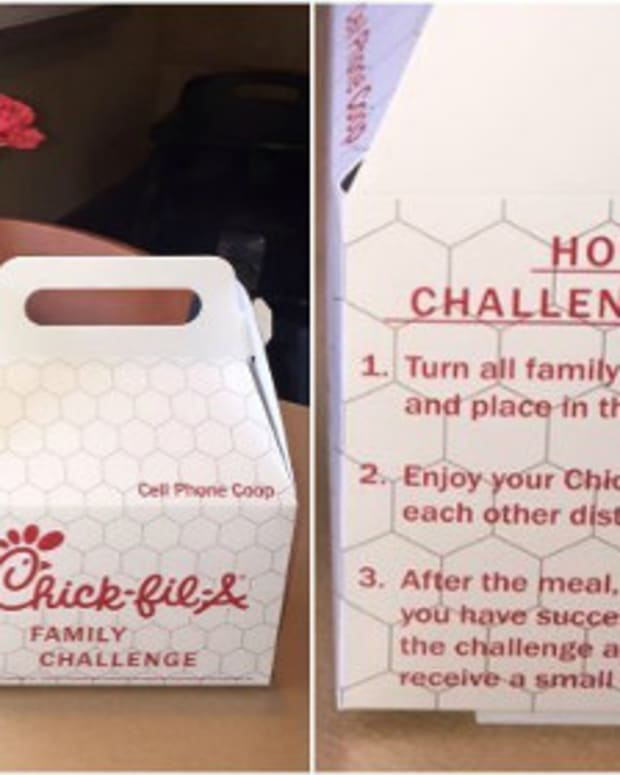 Chick-Fil-A Launches 'Cell Phone Challenge' Promo Image