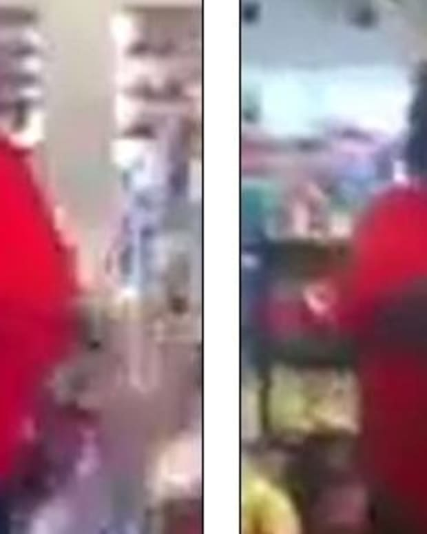 Woman Destroys Convenience Store For Odd Reason (Video) Promo Image