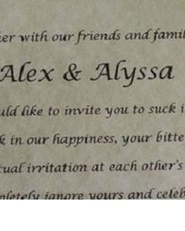 Woman Has Amazing Response To Abusive Parents Who Demanded An Invite To Her Wedding (Photo) Promo Image
