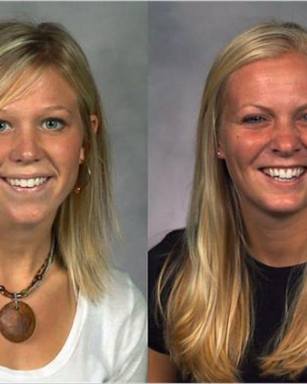 Left: Laura Van Ryn, Right: Whitney Cerak
