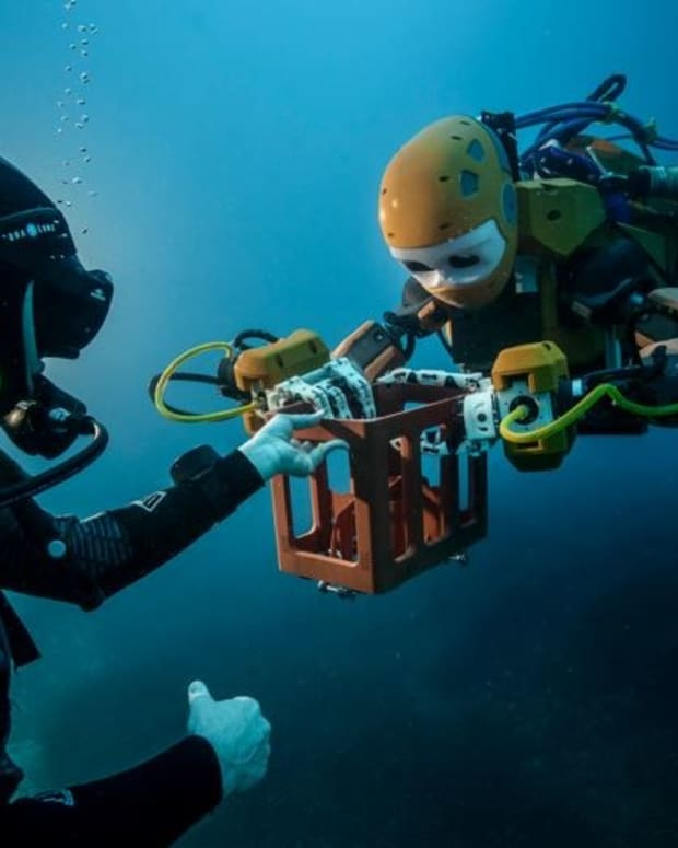 Scientists' 'Robo Mermaid' Explores Ocean Depths (Video) Promo Image