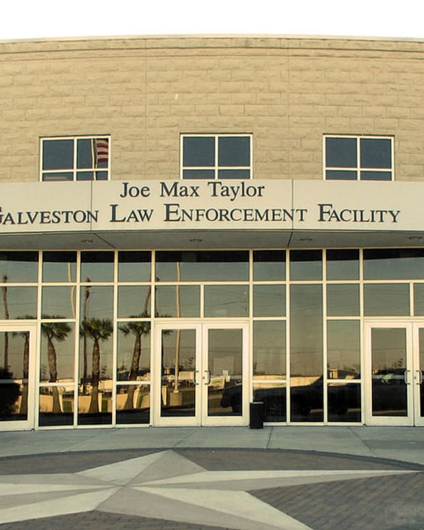 The Joe Max Taylor Galveston Law Enforcement Facility.