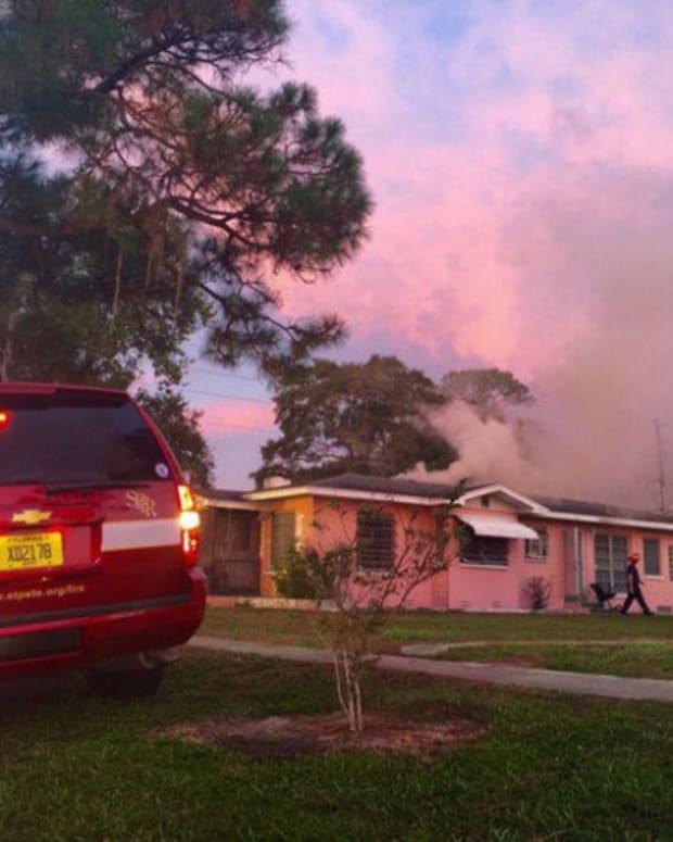 fire at Natasha Carter's home