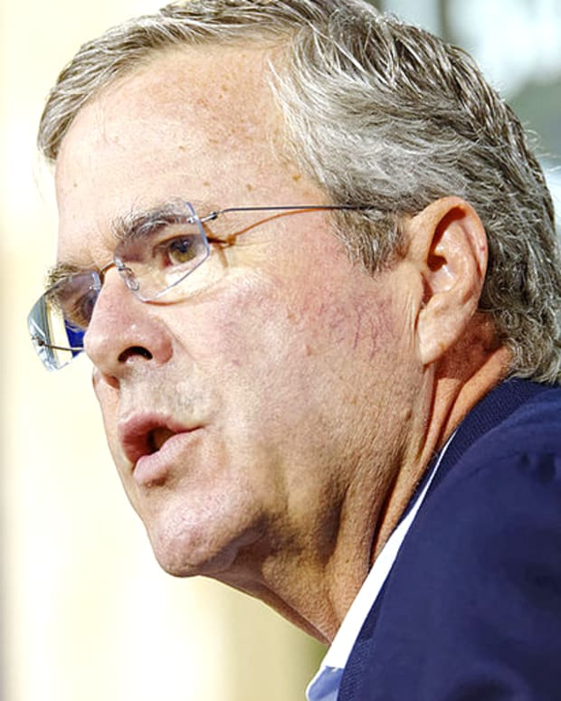 Former Florida Gov. Jeb Bush.