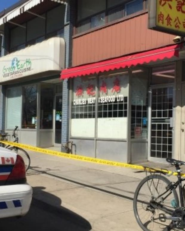 Human Remains Found Outside Toronto Butcher Shop Promo Image