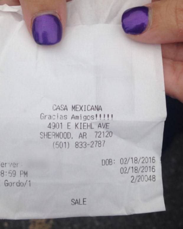 Rummerfield's receipt