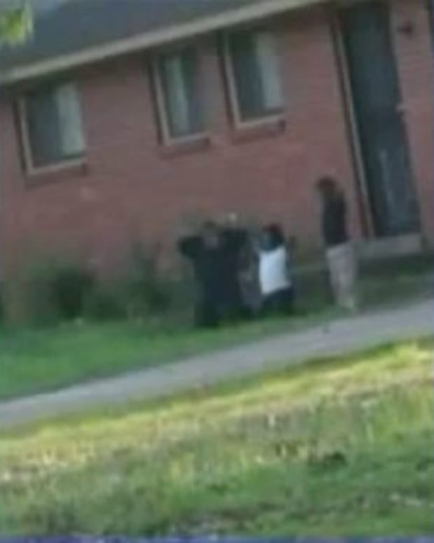 Officer Sees Kids On Knees, With Hands Behind Heads, And Takes Swift Action Promo Image