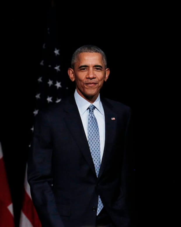 Obama: Trump Not 'Equipped' To Be President Promo Image