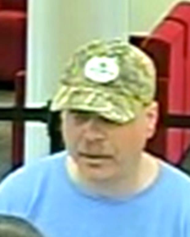 Nashville Bank Robber Suspect