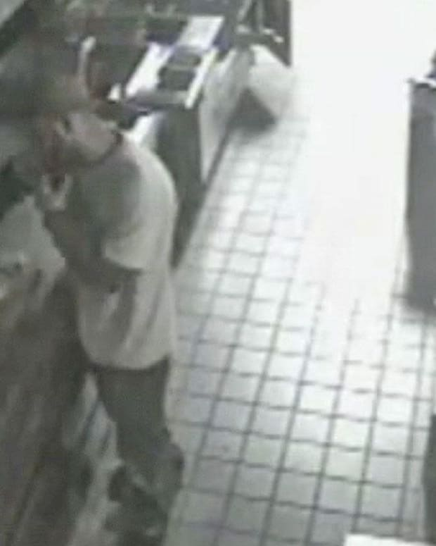 Man Breaks Into Five Guys To Make Burgers (Video) Promo Image