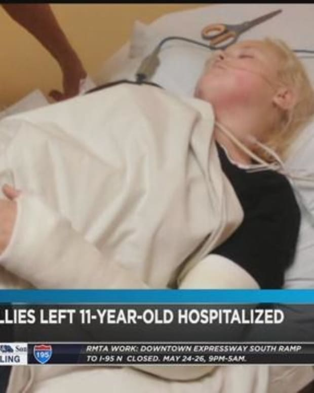 Father Outraged After Bullies Put Daughter In The Hospital Promo Image