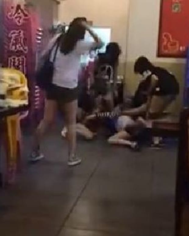 Guy Sees 5 Girls Attacking 1 Girl, Takes Action (Video) Promo Image
