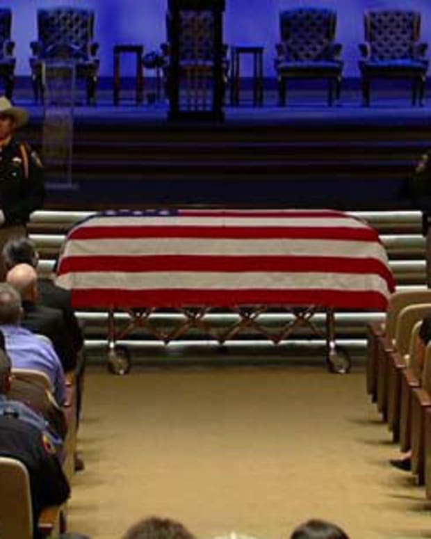 Deputy Darren Goforth's funeral