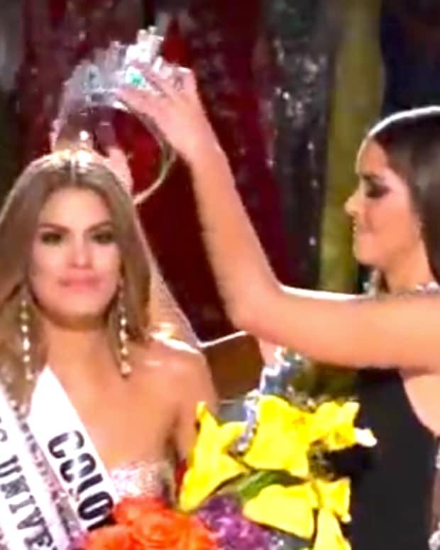 Ariadna Gutierrez, Miss Colombia.