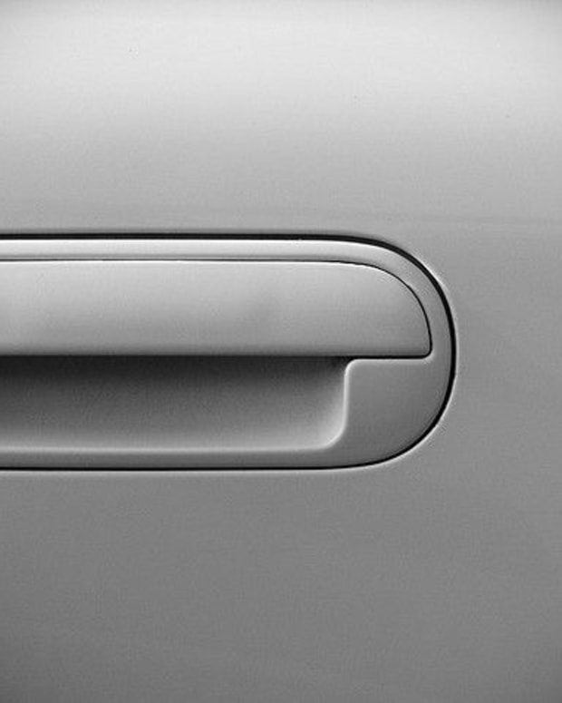 Car Door Handle.