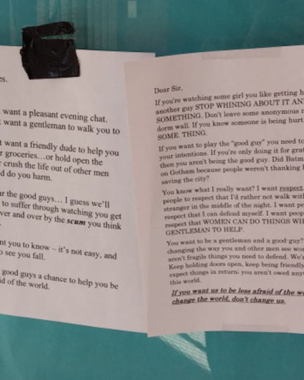 College Student Responds To 'Good Guy' Note (Photos) Promo Image
