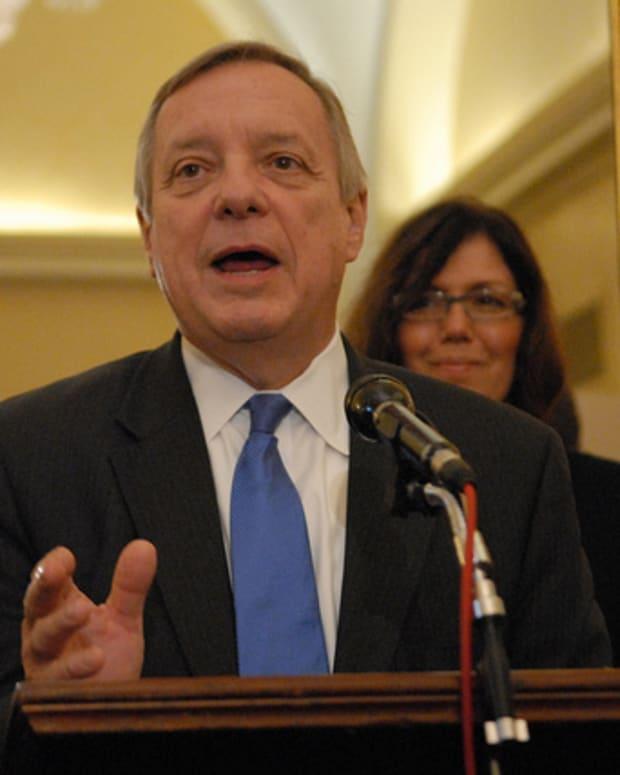 Democratic Sen. Dick Durbin of Illinois