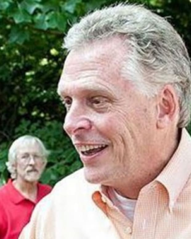 virginia governor terry mcauliffe