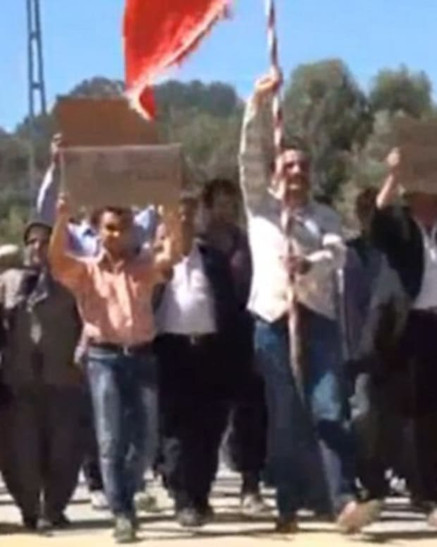 Video Shows Men In Turkey Protesting For Marriage (Video) Promo Image