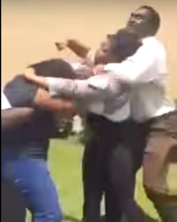 Did School Official Use Chokehold On Student? (Video) Promo Image