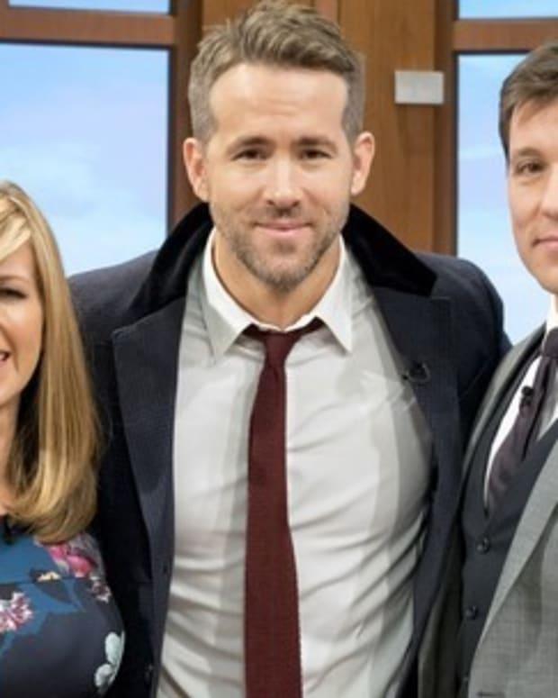 Ryan Reynold's at ITV.