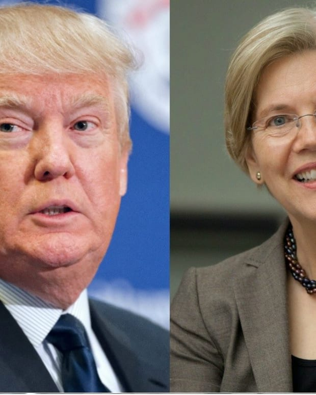 Warren Eyeing VP Run, Slams 'Thin-Skinned' Trump Promo Image
