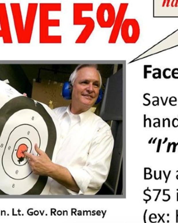 Facebook Gun Special