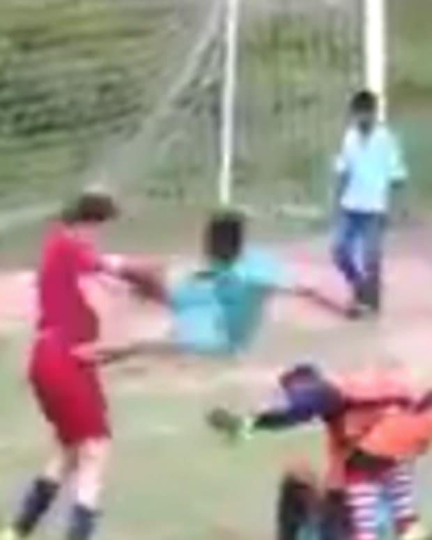 Soccer Dropkick