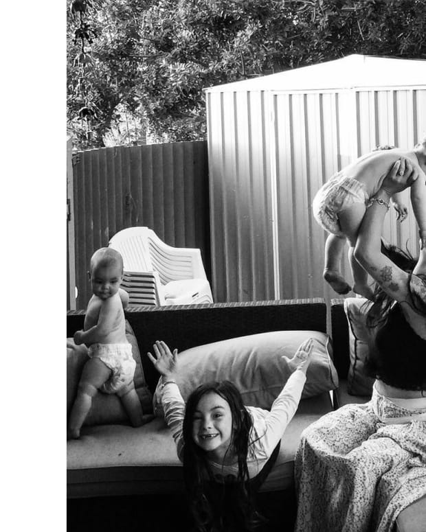 Mom Candidly Blogs About Pain Of Breastfeeding Promo Image