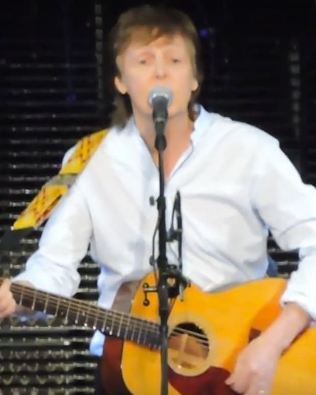 Paul McCartney Performs 'A Hard Day's Night' (Video) Promo Image