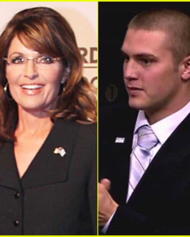 Sarah Palin and Track Palin