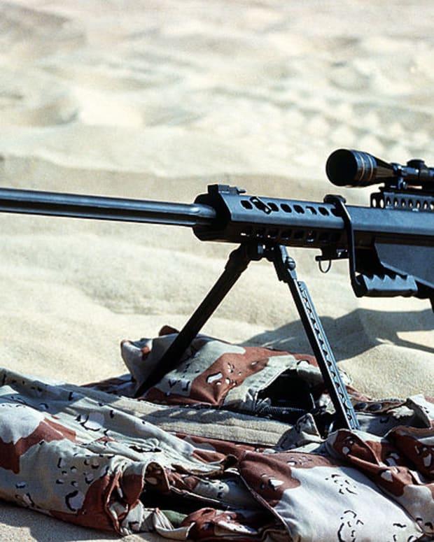 a sniper