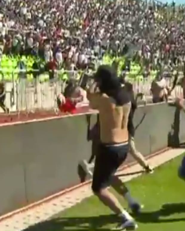 Chile Soccer Fans.